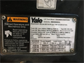 2013 YALE, ESC040AC, SN: B883N02932L, 9607 Hours, IR: 922872, York, PA, Call for pricing