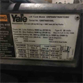2013 YALE, ERP040VT, SN: G807N05180L, 6576 Hours, 4000 Lbs, IR: 732469, Maple Shade, NJ, Call for pricing