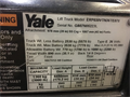 2013 YALE, ERP030VT, SN: G807N05223L, 4728 Hours, IR: 922423, York, PA, Call for pricing